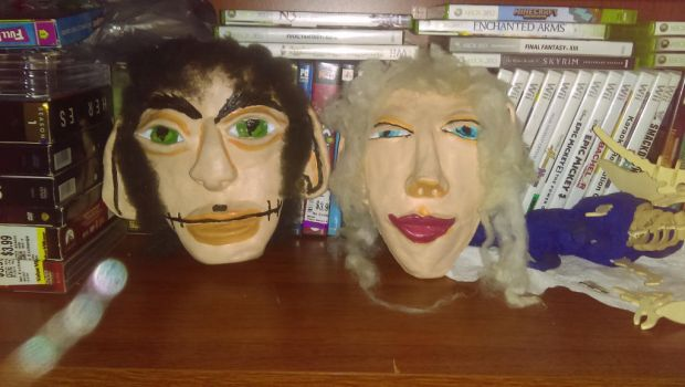Tyme And Iselle Masks by jbailuk