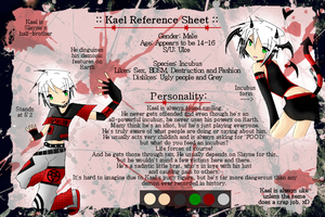 Kael Reference Sheet by Doomylicious