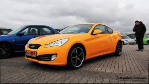 2011 Hyundai Genesis Coupe by compaan-art