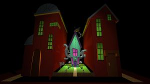 3D MODEL: Invader Zim House (YouTube link) by Enthriex