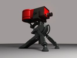 lvl1 Sentry Gun from TF2... by ShengDaFlashPRo