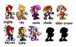 Sprite sheets I'm working on by supersilver27