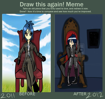 Meme: Before and After by Niyaox