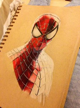 The Amazing Spider-Man by PostBoxRomance