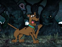 Scooby Doo and the Living Forest by Dr-Anime