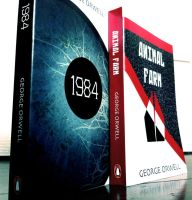 George Orwell Novel Covers 2 by Silvixen