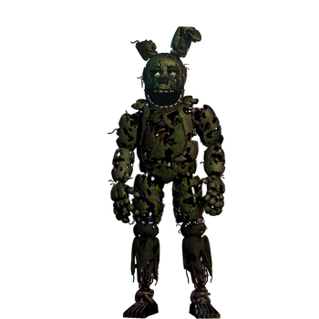 SpringTrap by TheGoldenGamer90010