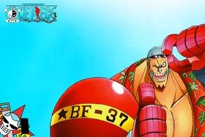 One Piece - Franky Wallpaper by NMHps3