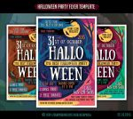 Halloween Party Flyer Template #7 by olgameola