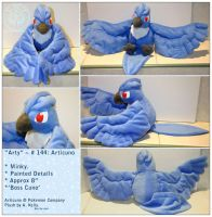 Arty - Articuno Plush by RadiantGlyph