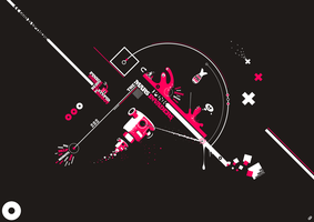 The Mars Pink Invaders by onrepeattt