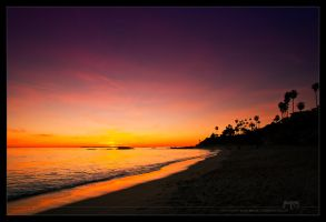 Pacific Sunset by snoopersen