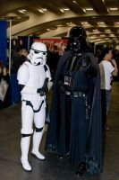 Vader and Storm Trooper by IanTheRed