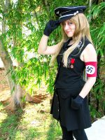Nazi girl by chronos-drako