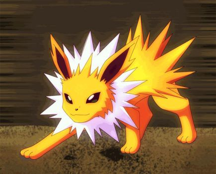 Lightning Jolteon by The-Cro55-FoX