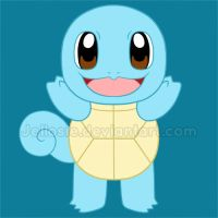 No. 007 - Squirtle by Happbee