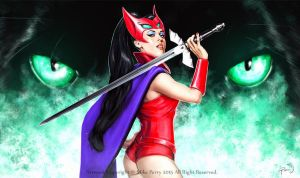 Motu Fan Art  CATRA by MikePerryArt
