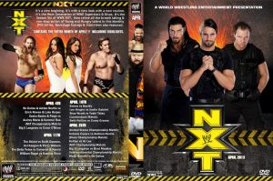 WWE NXT April 2013 DVD Cover by Chirantha