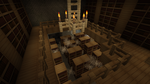 Minecraft strongholds library by Philerias