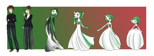 Commission - Mega Gardevoir TG / TF - master303 by Luxianne