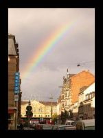 Rainbow over the City by Aless1984