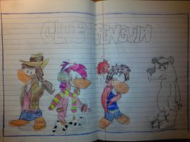 My cover for my English Notebook by Nneriamux4ever