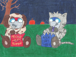 OCs Rally and Motor Halloween by AutobotSparkyPrime