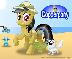 Coppertone Daring Do by AleximusPrime