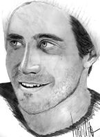 Jake Gyllenhaal by verkoka