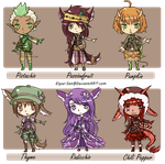 Adopts 81-86 **OPEN* 3/6 by Elysa-Adopts