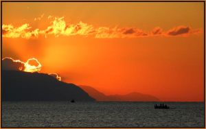 Sunrise Crete by Jenvanw