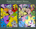 Draw this again _sweet attack_ by katze-des-grauens