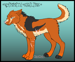 Quinnith's Wolf Form by Marclenia