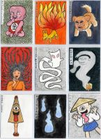 Yokai Cards set 1 by Cattype