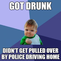 Success Kid - Drunk Driving by INF3CT3D-D3M0N