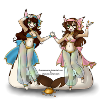 : : Gypsy Sisters : : by LittleMacarons