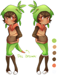 [Adopts] Chespin Gijinka Auction - CLOSED by banANNUmon
