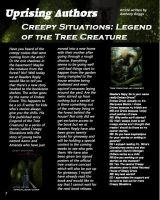 Magazine Spread Creepy Situations by mjb1225