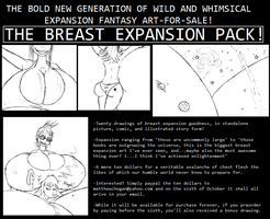 Breast Expansion Pack For Sale by Saxxon