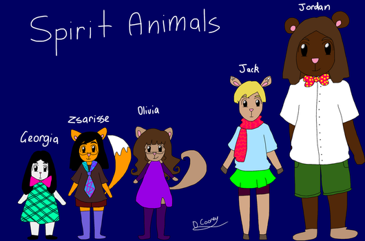 The Spirit Animals by Coolcat1313