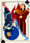commission - Ozai and Hakoda by onnirica