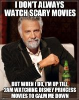 Interesting man meme(scary movies) by Boyscoutwizard