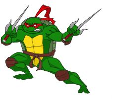TMNT Raphael by GamerZzon