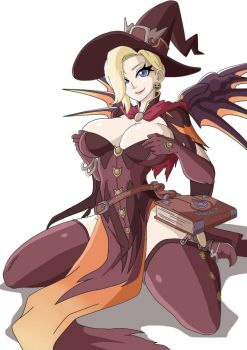 Mercy Witch Suit (Halloween Skin) (Witchking00) by SDKZERO