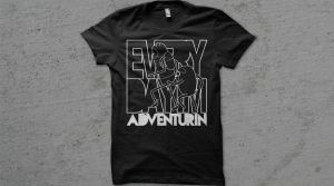 Every Day I'm Adventurin' T-Shirt by entangle