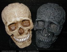 freaksmg-stock-skulls 2 by freaksmg-stock