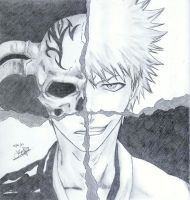 Bleach - The Scarmask -Ichigo- by Kaou