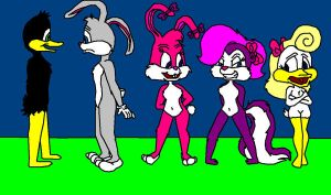Looney Tunes and Tiny Toons by lilstarshine2002