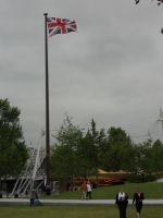Flag over the Park by darksporechild