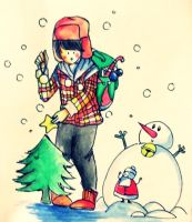 x'mas boy by chuoi-chan